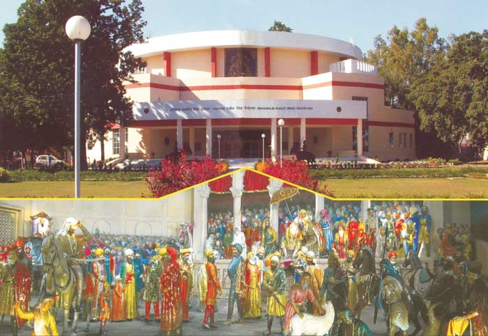 Maharaja Ranjit Singh Panorama Amritsar, Details of Lion of